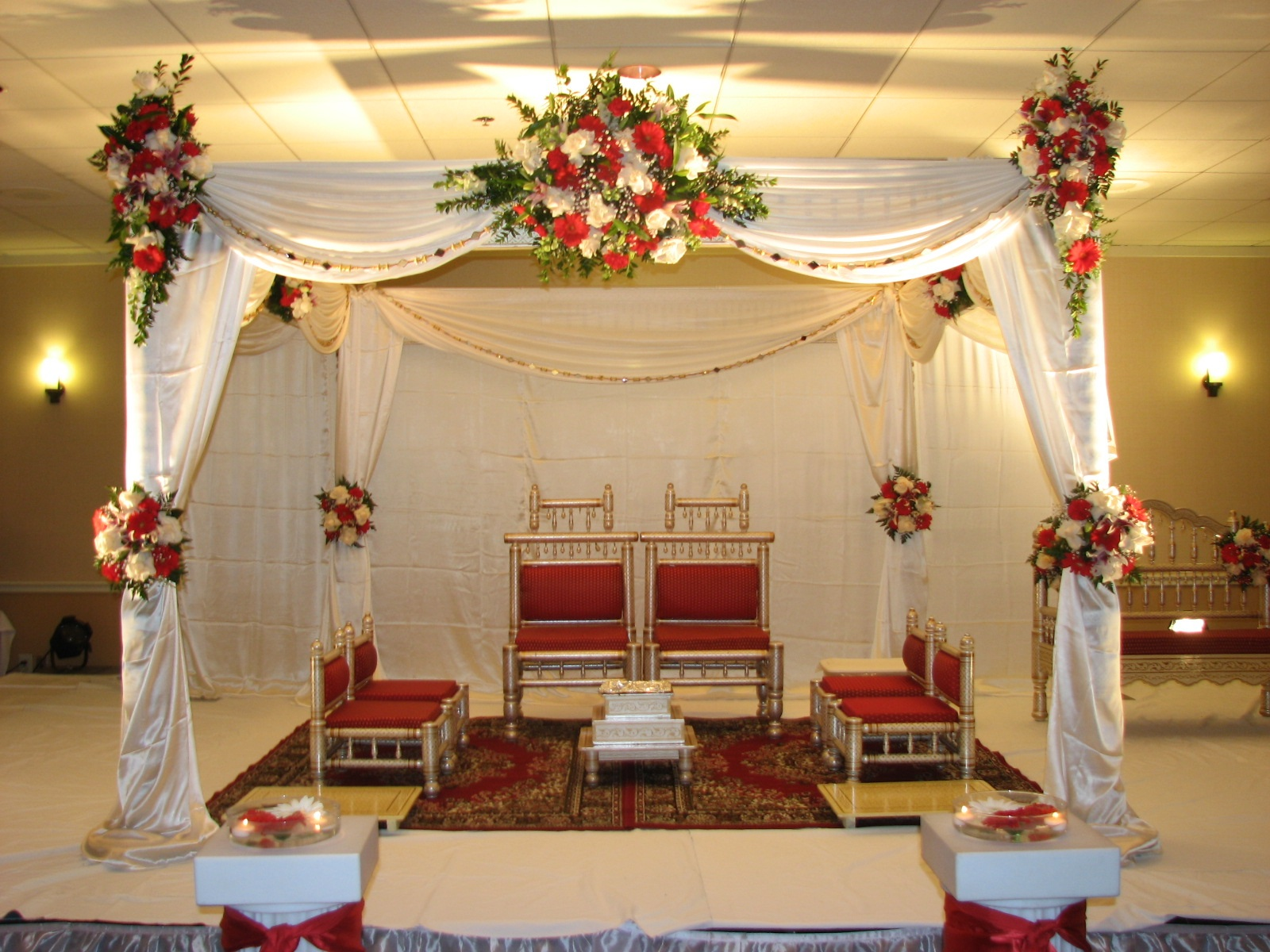 chair covers for rent toronto bed target indian wedding decorations tampa | bay florist