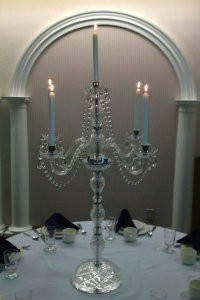 Crystal Candelabra Wedding Rentals Tampa Tampa Bay