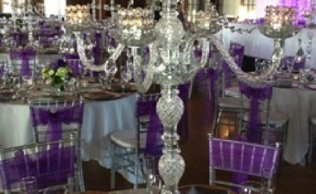Crystal Candelabra Wedding Rentals Tampa Tampa Bay