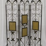 Iron screen for pictures
