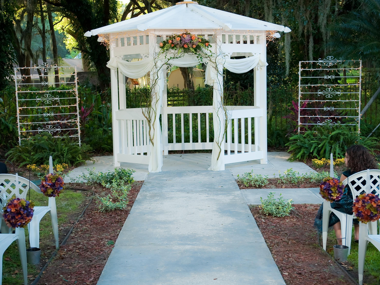 Weddings Ceremonies Gazebo decorations