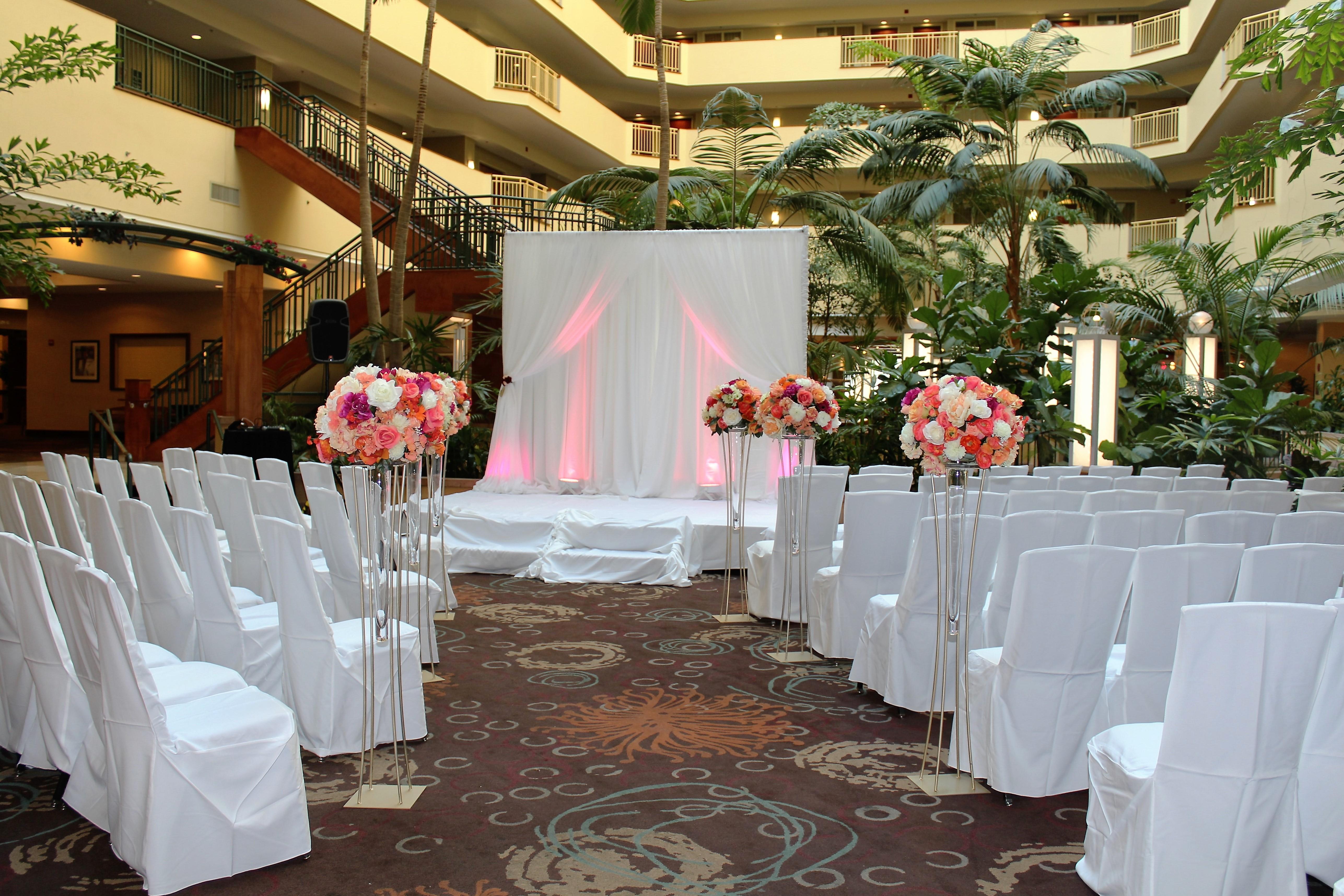 Weddings Ceremonies set up