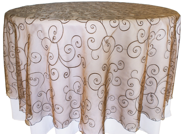 embroidery-organza-Chocolate