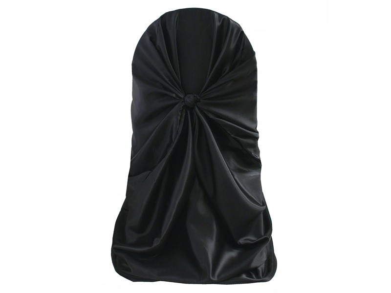 self-tie chair cover rental black