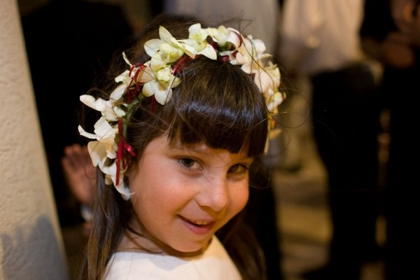Flower girl - Headpiece Flower band