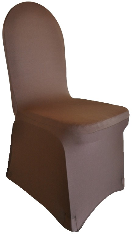 Spandex Chair Covers rentals chocolate