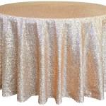 Glitz Champagne Tablecloth