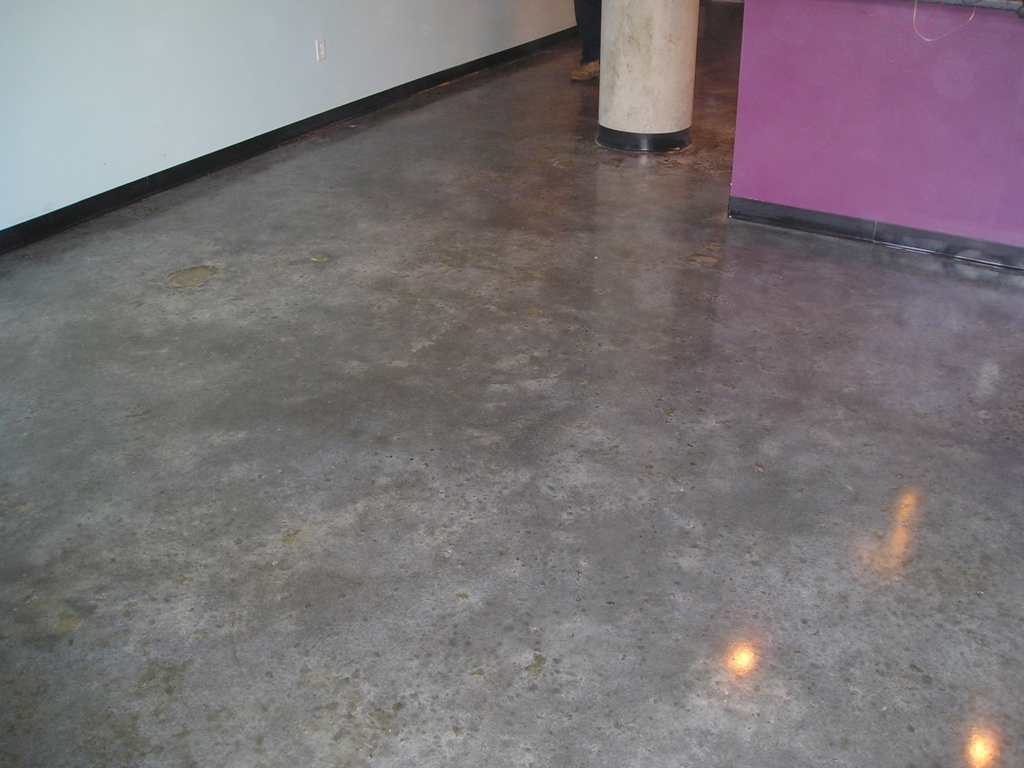 How Stain Concrete Floor