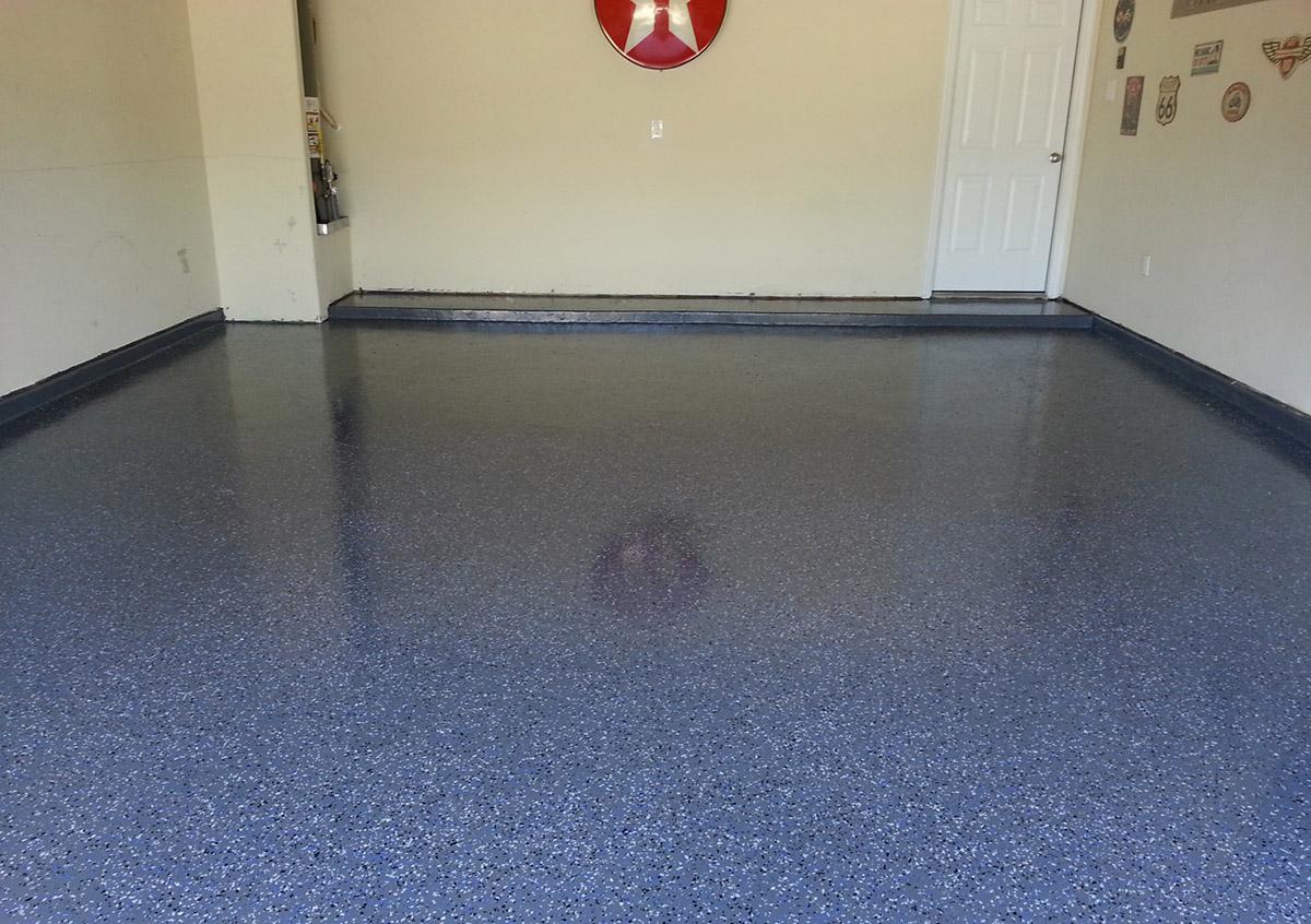 Refinish  Renew Your Concrete Garage Floor  Stone Medic