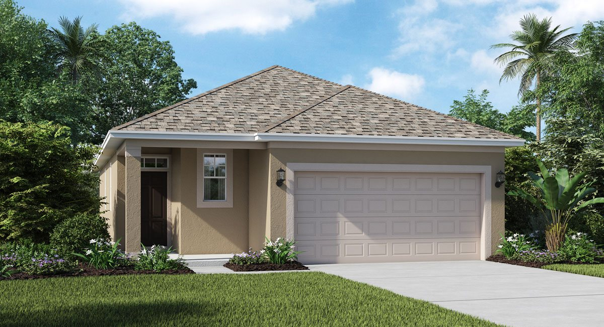 Concord-Station/The-Manors Auburn 1504 sq.ft. 3 Bedrooms 2 Bathrooms 2 Car Garage 1 Story Land O Lakes Florida