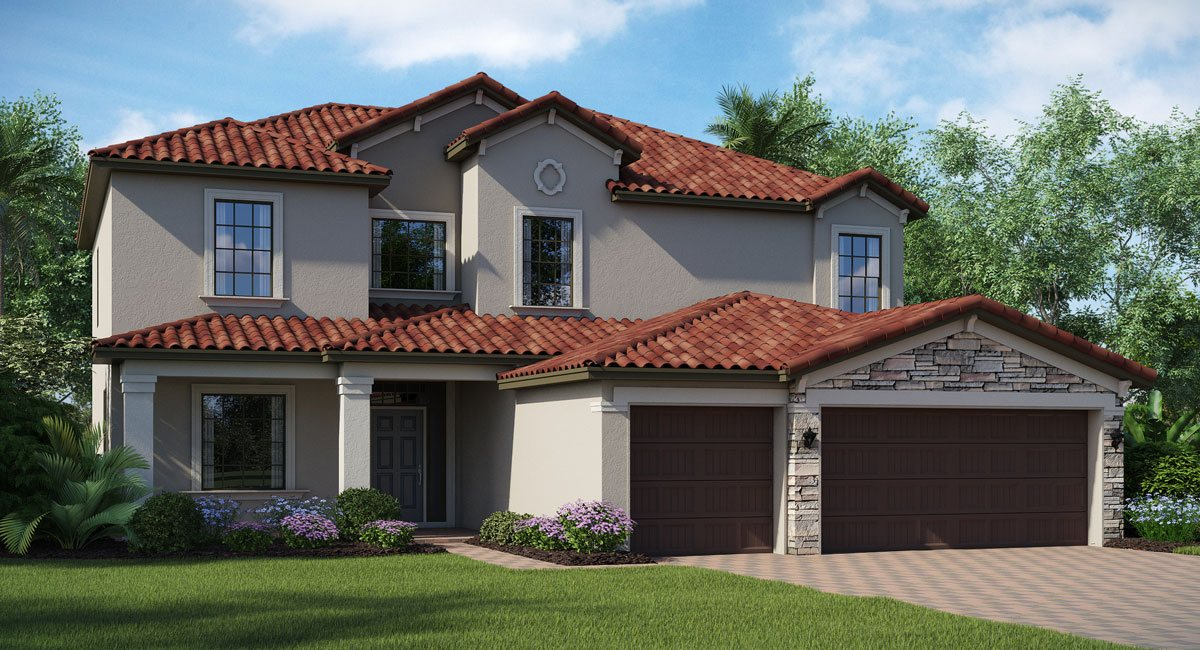 Concord-Station/The-Retreat/Dartmouth 2952 sq.ft. 5 Bedrooms 3 Bathrooms 3 Car Garage 2 Stories Land O Lakes Florida