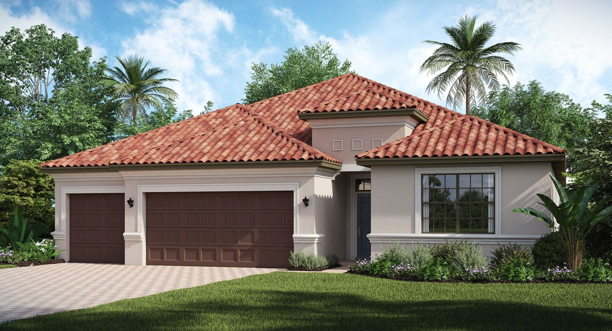 Concord-Station/The-Retreat/Verandah 2599 sq.ft. 3 Bedrooms 3 Bathrooms 3 Car Garage 1 Story Land O Lakes Florida