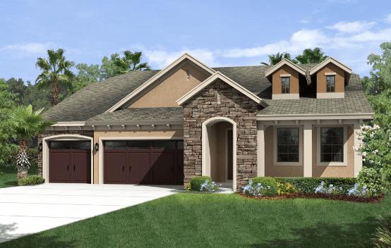 Located in Wimauma, Florida, Sereno New Homes