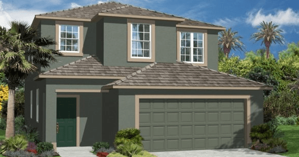 Cypress Creek Manors in Ruskin, FL 33573 Lennar $164,990 - $214,990