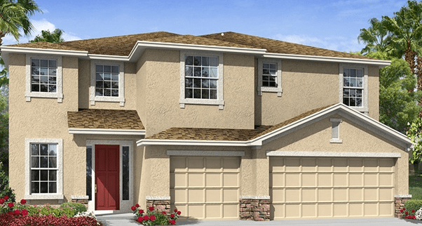 Energy Star-Qualified New Home Riverview Florida