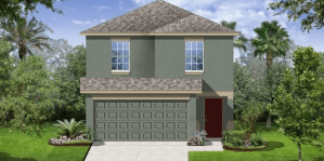 RIVERVIEW FLORIDA | THE MADRID II | 1763 SQ FT | 4 Bedrooms | 2.5 Bath | 2 Car