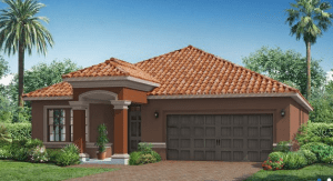 Waterleaf The Bourne 1,971 sq. ft. 3 Bedrooms 2 Bathrooms 2 Car Garage 1 Story Riverview Fl