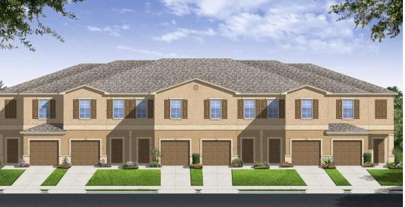 Lennar Homes Glen Cove Ruskin Florida New Town Homes