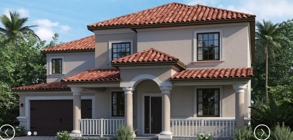 Lennar Homes Concord Retreat Land O Lakes Florida New Homes