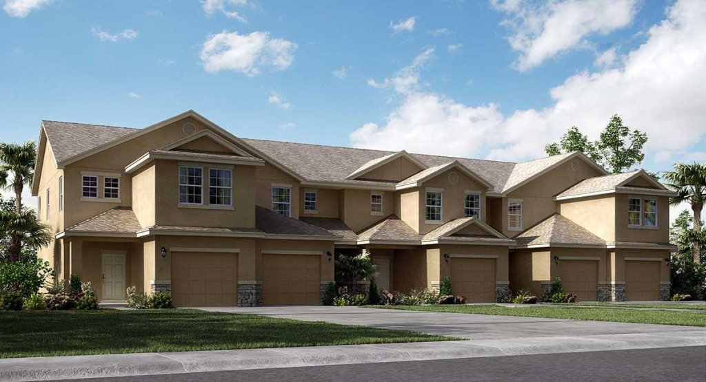 Chelsea Oaks Townhomes The Guilford 1,489 sq. ft. 3 Bedrooms 2.5 Bathrooms 1 Half bathroom 1 Car Garage 2 Stories Lakeland Fl