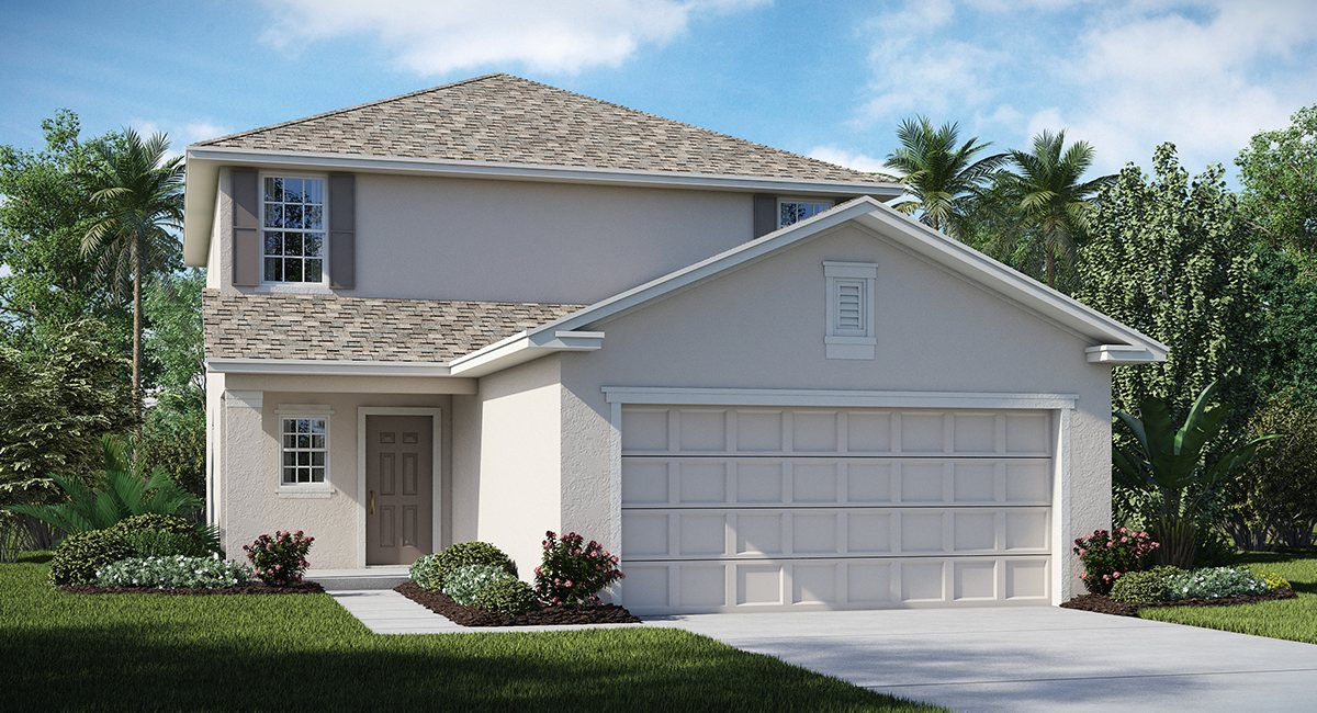 Belmont The Delaware 1,810 sq. ft. 3 Bedrooms 2 Bathrooms 1 Half bathroom 2 Car Garage 2 Stories Ruskin Fl