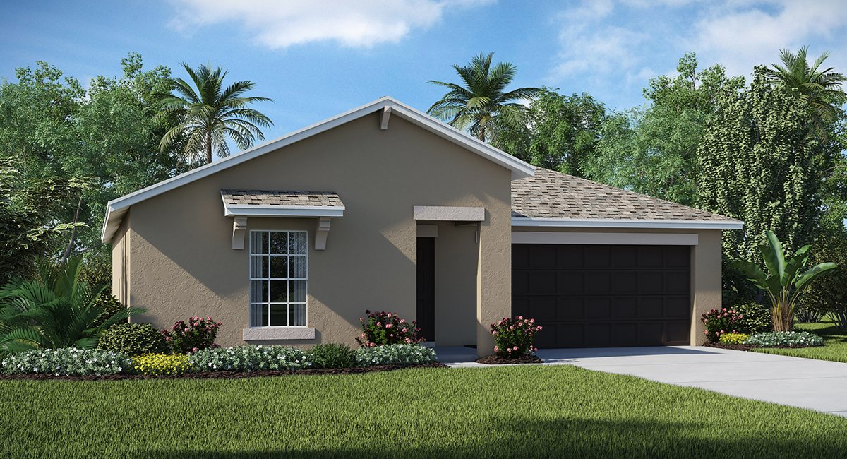 You are currently viewing Hawks Landing The Dover 1,556 sq. ft. 3 Bedrooms 2 Bathrooms 2 Car Garage 1 Story Ruskin Fl