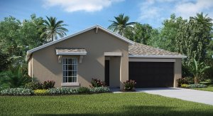 Hawks Landing The Dover 1,556 sq. ft. 3 Bedrooms 2 Bathrooms 2 Car Garage 1 Story Ruskin Fl