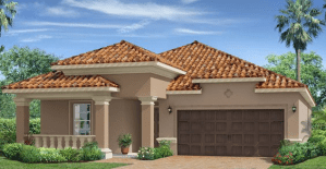 Waterleaf The Eastham 2,065 sq. ft. 4 Bedrooms 3 Bathrooms 2 Car Garage 1 Story Riverview Fl