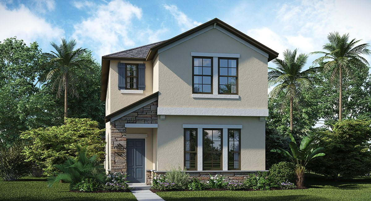 The Arbors at Wiregrass Ranch The Hickory 1,982 sq. ft. 3 Bedrooms 2 Bathrooms 1 Half bathroom 2 Car Garage 2 Stories Wesley Chapel Fl