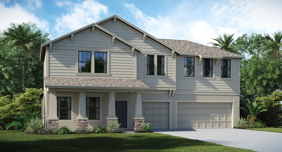 The Kent Islander | 2 Story | 4 Bed | Game Room |3.5 Bath | 3 Car |Wimauma Florida