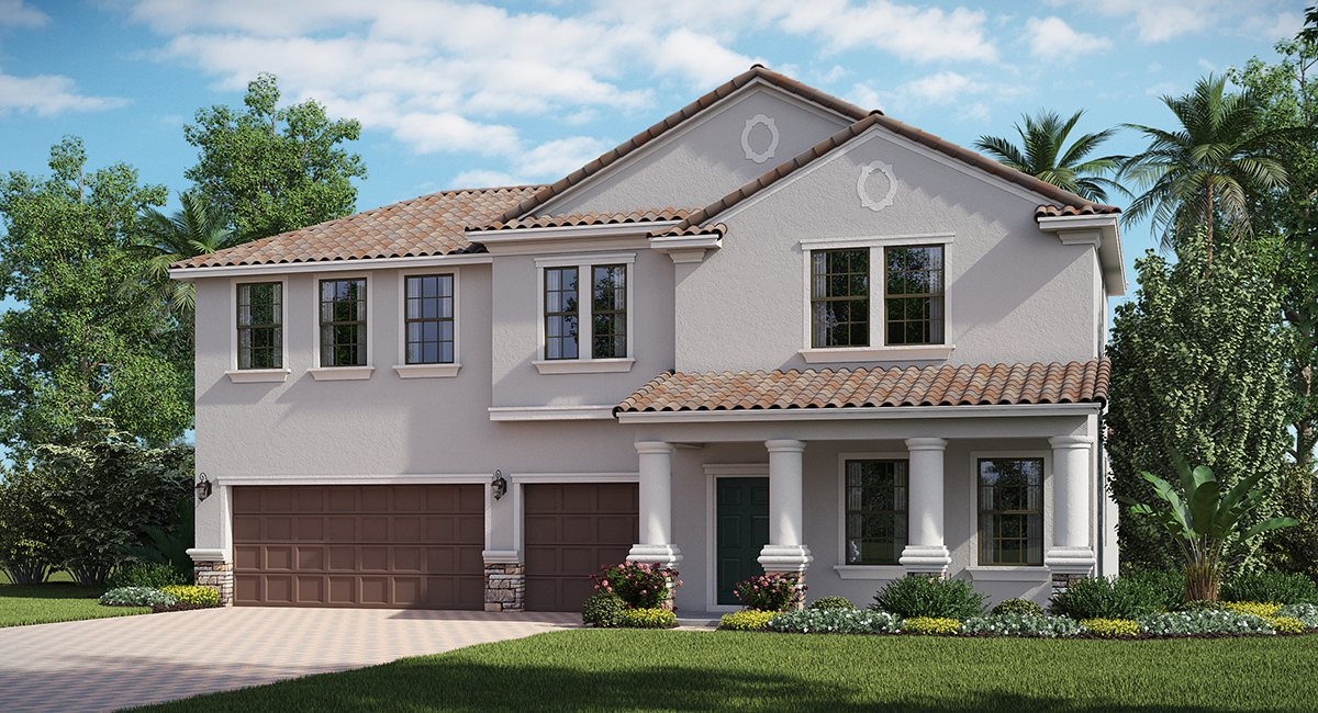 You are currently viewing The Kent Islander   2 Story   4 Bed   Game Room  3.5 Bath   3 Car   Riverview Fl