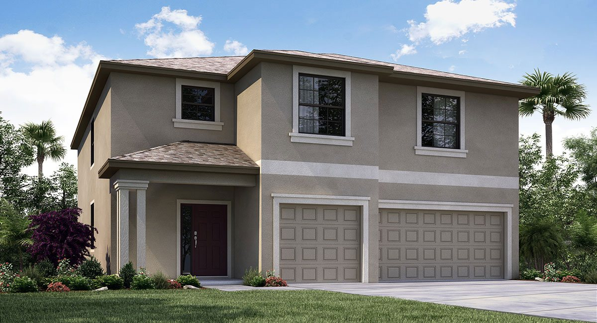 There are about One Dozen Production Home Builders in the Riverview Fl