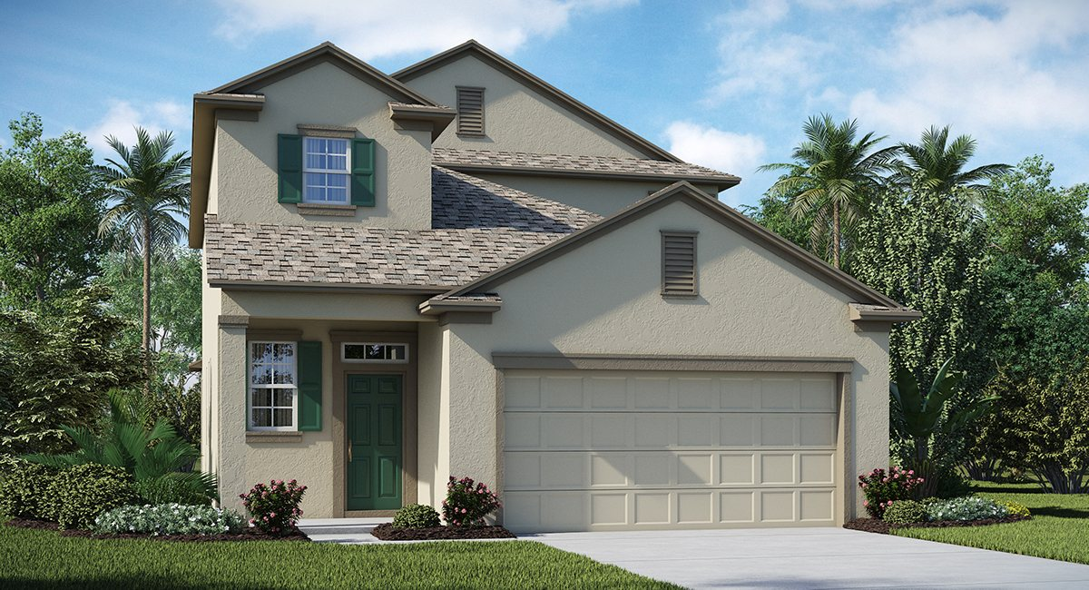 Just-Built New Homes Riverview Florida