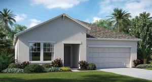 Belmont The New York  1,971 sq. ft. 3 Bedrooms 2 Bathrooms 2 Car Garage 1 Story Ruskin Fl