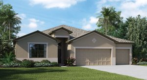 The Newcastle | 4 Bed | 3 Bath | 3 Car | Riverview Florida