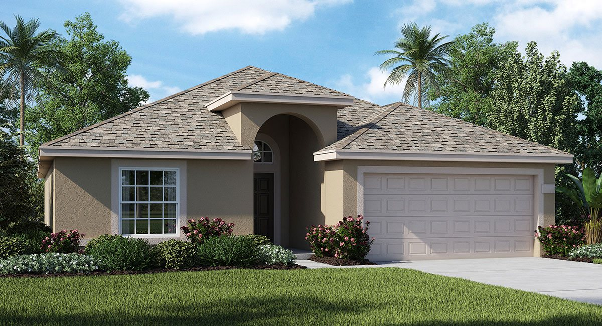 Normandy New Home Plan in Cypress Creek: Cypress Creek Estates by Lennar