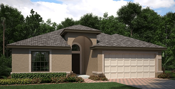 Ballantrae/Normandy 1,909 Square Feet 4 Bedrooms 3 Bathrooms 2 Car Garage 1 Story Riverview Florida