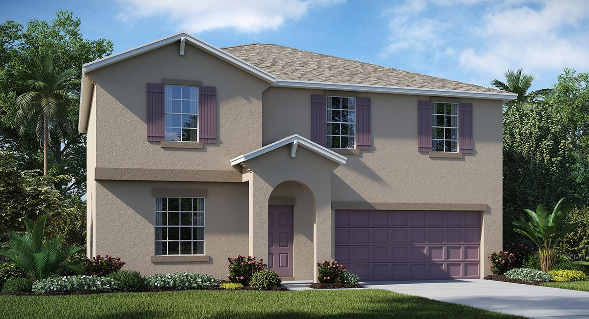 You are currently viewing Hawks Landing The Providence 2,562 sq. ft. 4 Bedrooms 2 Bathrooms 1 Half bathroom 2 Car Garage 2 Stories Ruskin Fl