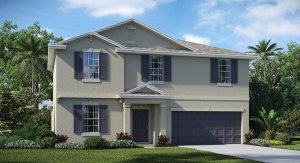 Hawks Landing The Raleigh 2,889 sq. ft. 5 Bedrooms 2 Bathrooms 1 Half bathroom 2 Car Garage 2 Stories Ruskin Fl