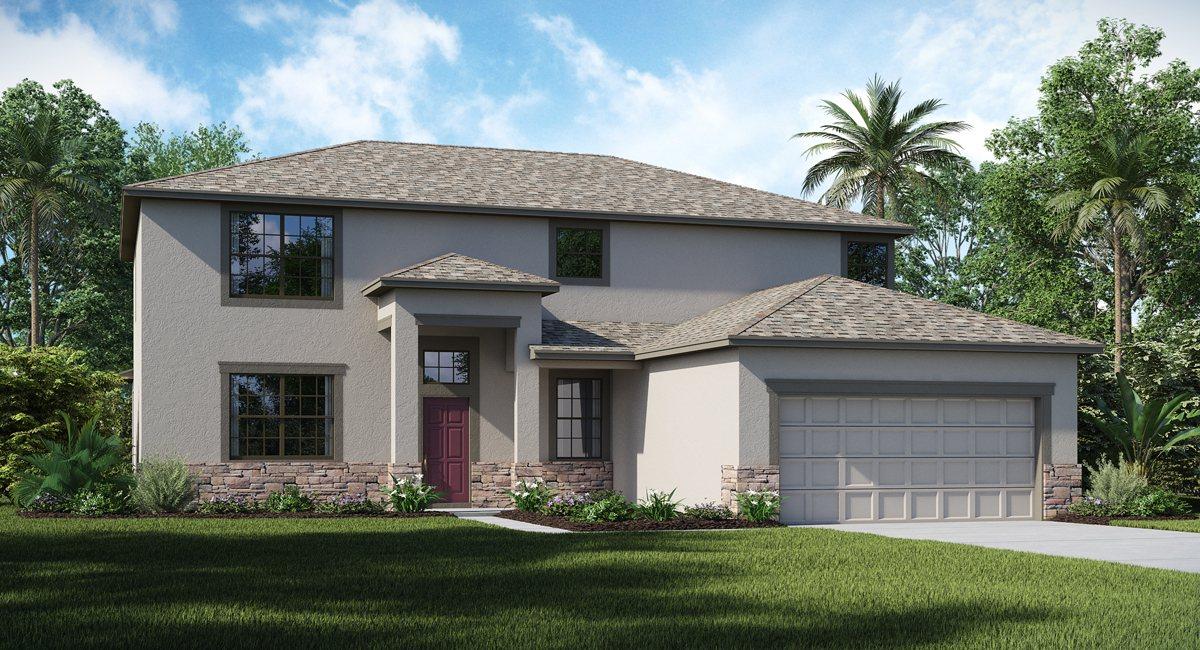 New Model Homes & Floor Plans Sereno Wimauma Florida