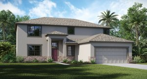 Sereno/Sereno-Estates/The Revere 2,780 sq. ft. 4 Bedrooms 3 Bathrooms 3 Car Garage 2 Stories Wimauma Fl
