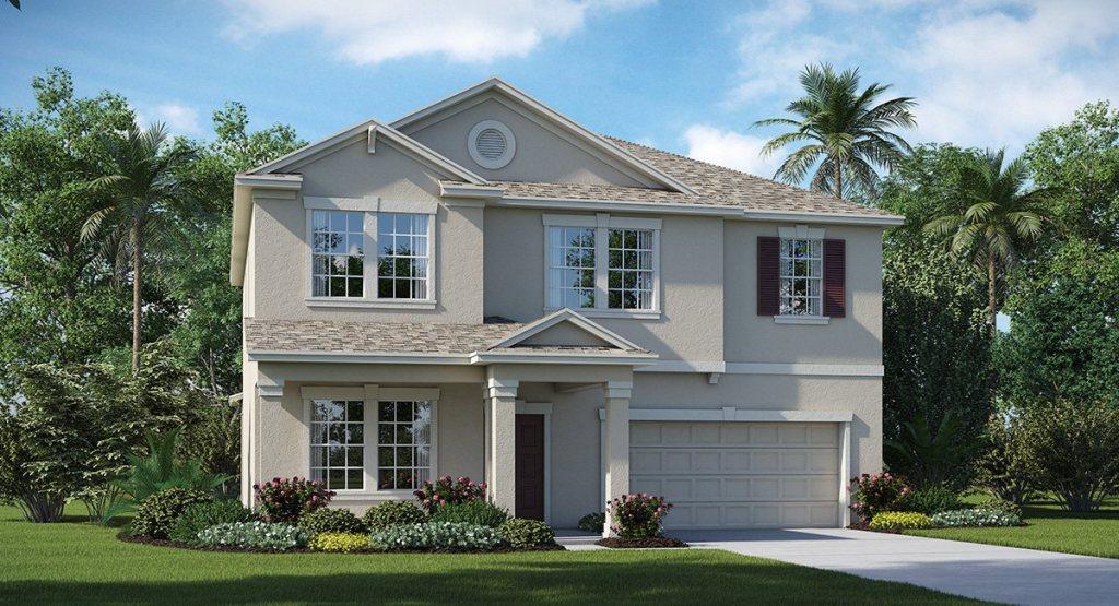 New Model Homes & Floor Plans Connerton Land O Lakes Florida