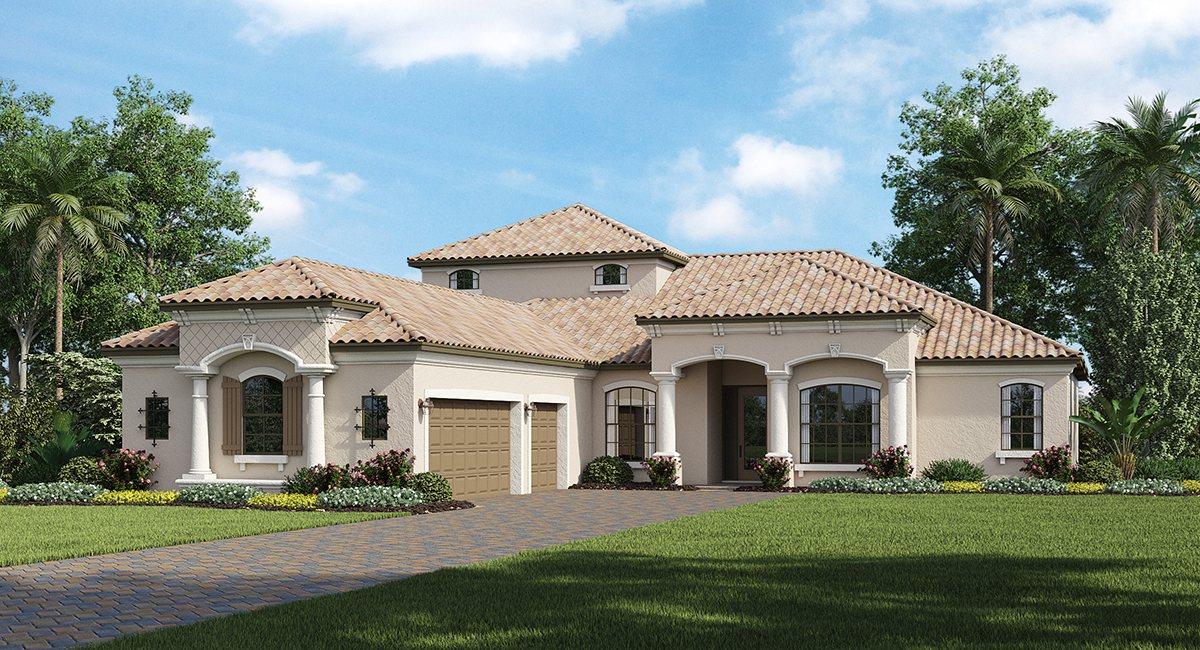 Lakewood National  : Terraces & Verandas & Coach Homes & Estate Homes & Executive Homes Lakewood Ranch Fl