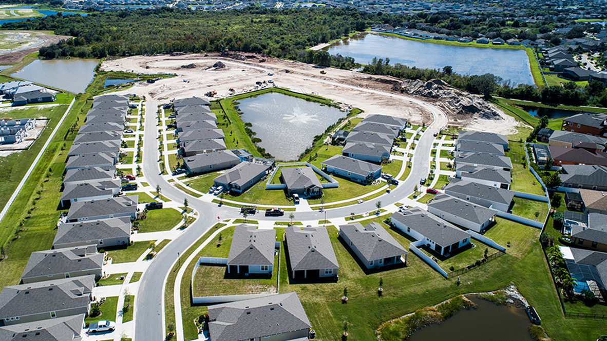 You are currently viewing Waterleaf Freedom Homes New Home Community  Riverview Florida