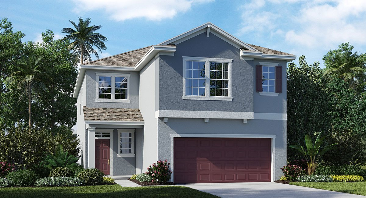 Connerton The Winchester 2,767 sq. ft. 4 Bedrooms 2.5 Bathrooms 1 Half bathroom 2 Car Garage 2 Stories Land O Lakes Fl