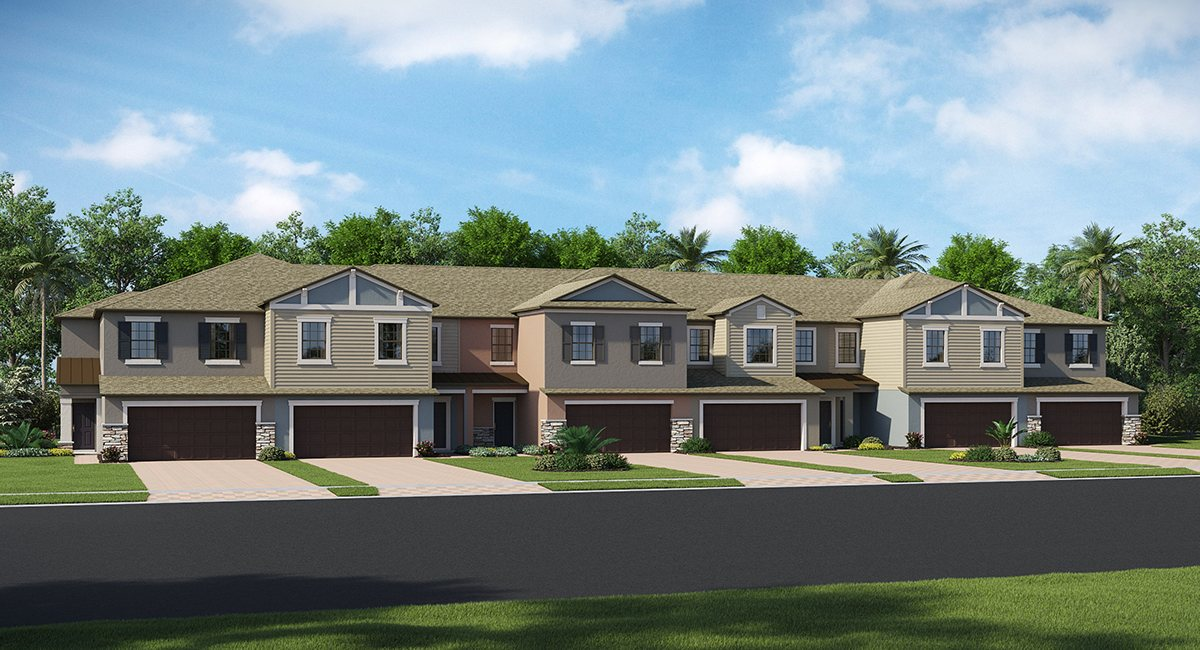 The Arbors at Wiregrass Ranch The Marisol 2,319 sq. ft. 3 Bedrooms 2 Bathrooms 1 Half bathroom 2 Car Garage 2 Stories Wesley Chapel Fl