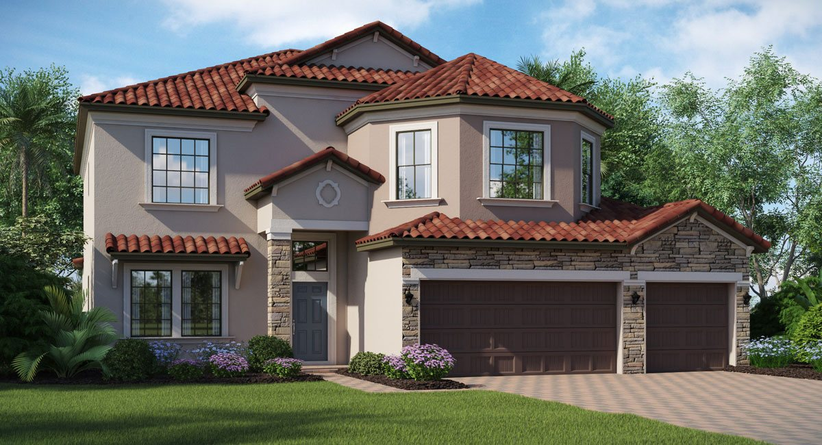 You are currently viewing Waterleaf The Wolcott 3,127 sq. ft. 5 Bedrooms 3 Bathrooms 3 Car Garage 2 Stories Riverview Fl
