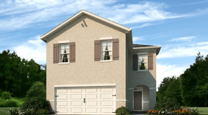 Hawks Landing The Aisle 2,007 square feet 4 bed, 2.5 bath, 2 car, 2 story Tampa Fl