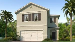 Sereno The Elston 2,260 square feet 4 bed, 2.5 bath, 2 car, 2 story Wimauma Fl