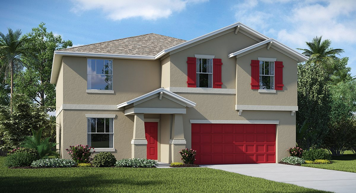 Riverbend West Exective Homes The  Richmond  3,076 sq. ft. 6 Bedrooms 3 Bathrooms 2 Car Garage 2 Stories Ruskin Fl 33570
